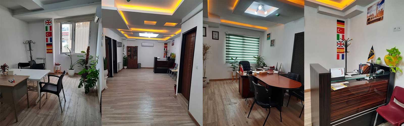 تصاویری از محیط دفتر آموزشگاه استاد مسجدی -Ostad Masjedi Office Pictures